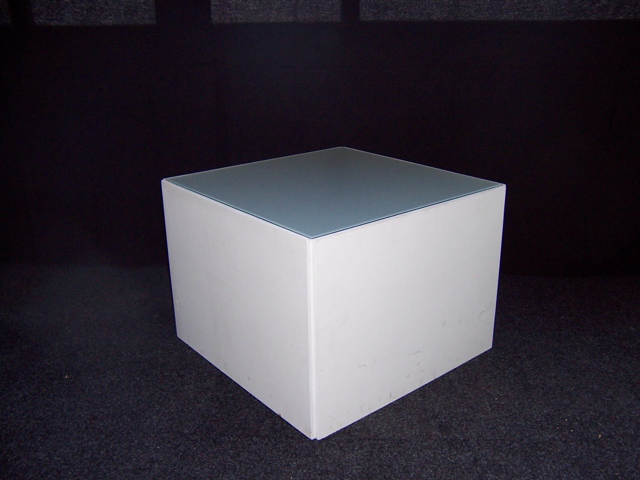 Loungemeubelen: Lounge tafel met led verlichting 60x60